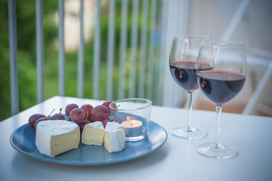 Armonía de quesos y vinos